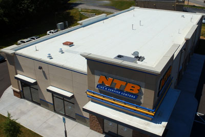 JDH Company is proud to have installed the roof on the brand new National Tire and Batter in Brainerd, Tennessee.
