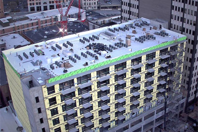 JDH Company is proud to have installed the new roof on 728 Market in downtown Chattanooga.